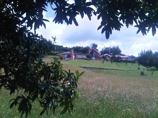 Casa en la montaña cerca a bosque - Chia - Ev