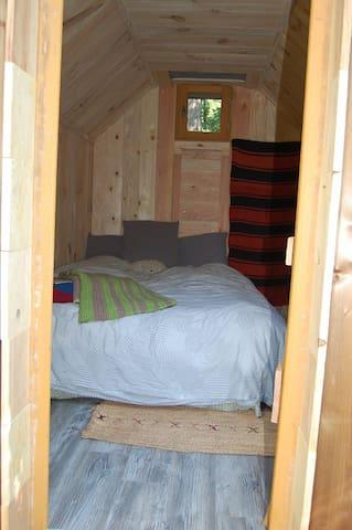 La cabane pour 2 personnes - La Vacquerie-et-Saint-Martin-de-Castries - Cabin