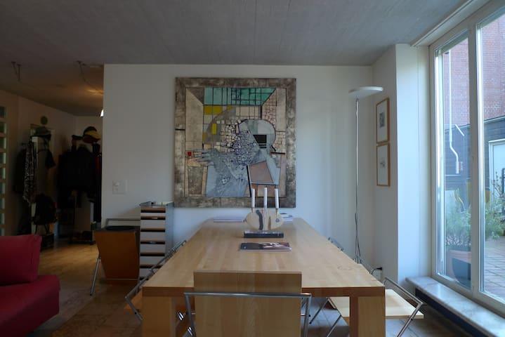 Charming Maisonette in Zurich City for 4 people - Zurique - Apartamento