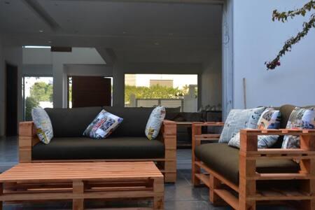 Charming & modern villa-private pool-beachfront - Tamaris - 独立屋
