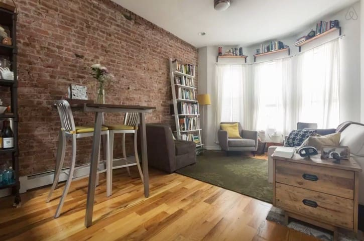 Fresh + Clean Apartment in Brooklyn w Outdoor Area