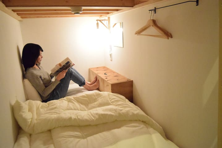 【Female only!】Female Pod Dorm Room with Free Wifi2