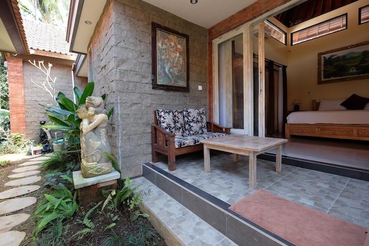 Harmony with Nature  @Aura Ubud~1BR  Cozy Room !