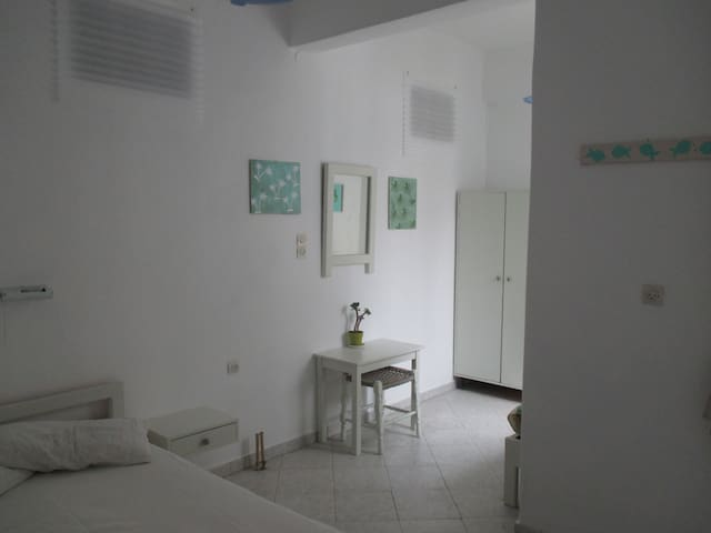 Light, clean and spacious room.  To see videos of the rooms, please try you tube hotel parko channel.