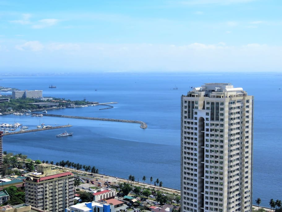 Manila Bay from Balcony