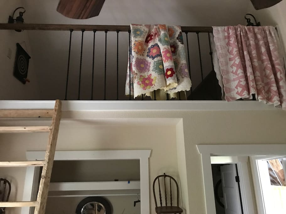 Upstairs Sleeping Loft