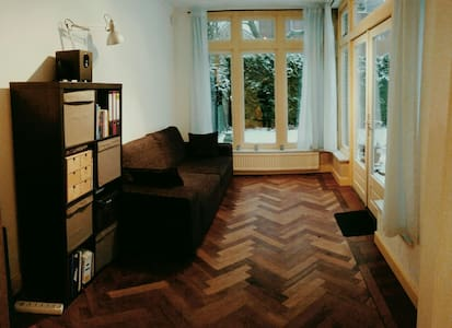 Cosy and bright appartment with big garden - Enschede - Leilighet