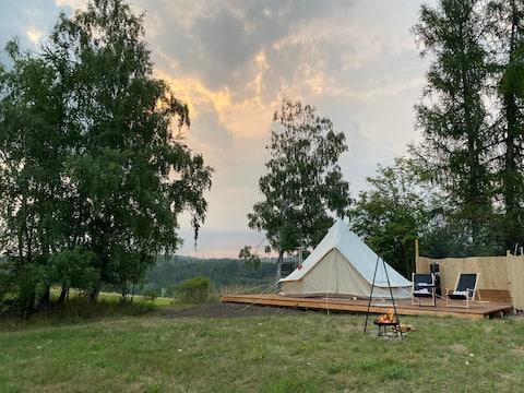 上記のキャンプ