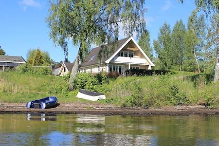 Idyllisk leilighet ved Femsjøen.