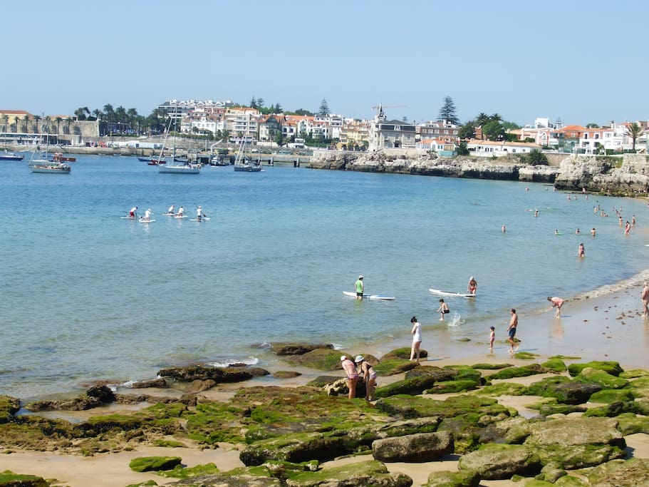 A view from Cascais and the Beach