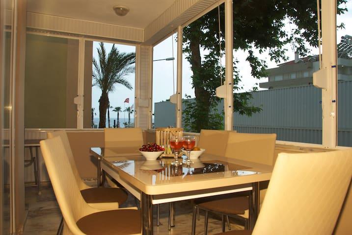 Nice apartement near Cleopatra - Alanya - Condominium