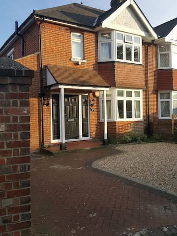 Lovely large semi-detached traditional house.