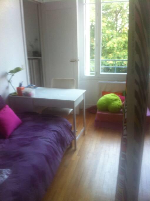 La chambre côté Adèle