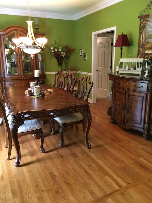 Formal Dining Room~ seats 8