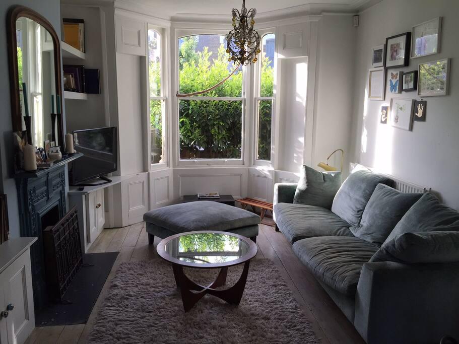 Living Room, adjoining Dining Room
