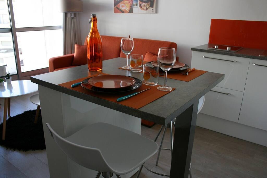 un petit chez soi a la grande plage de biarritz appartements en r sidence louer biarritz. Black Bedroom Furniture Sets. Home Design Ideas