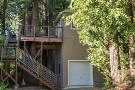 Wine Country & Redwoods Retreat - Guerneville - Casa