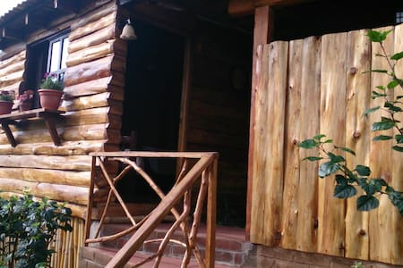Acogedora cabaña en el bosque. - Juayúa