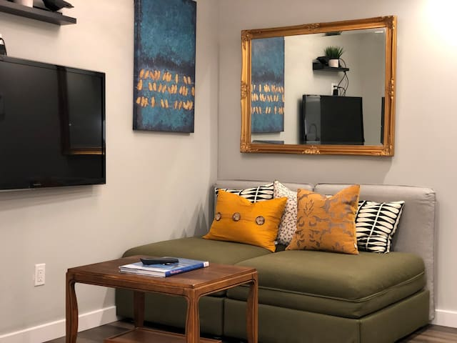 Sitting area - where you could enjoy your conversations or watching TV