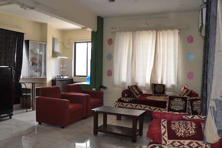 Homestay  Fully furnished 1BHK Flat (A/C)