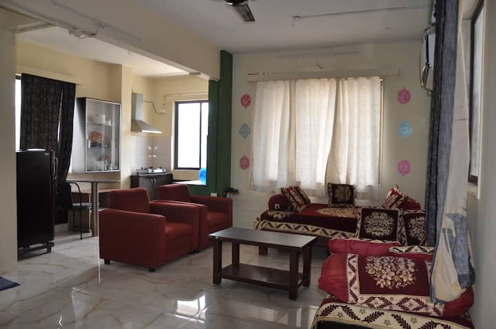 Homestay  Fully furnished 1BHK Flat (A/C)