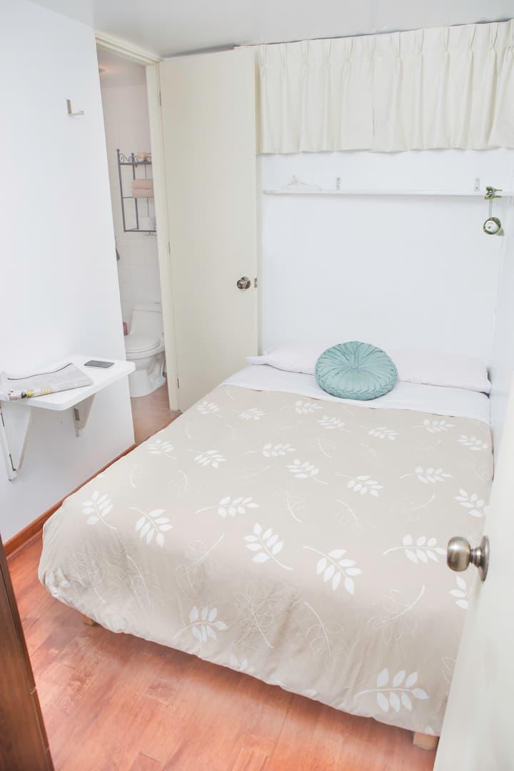 Alquiler dormitorio matrimonial, bedroom for rent