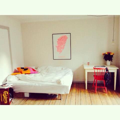 Hyggeligt værelse på Vesterbro - København - House