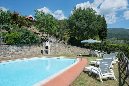 Panoramic Country Villa with Pool - Villa