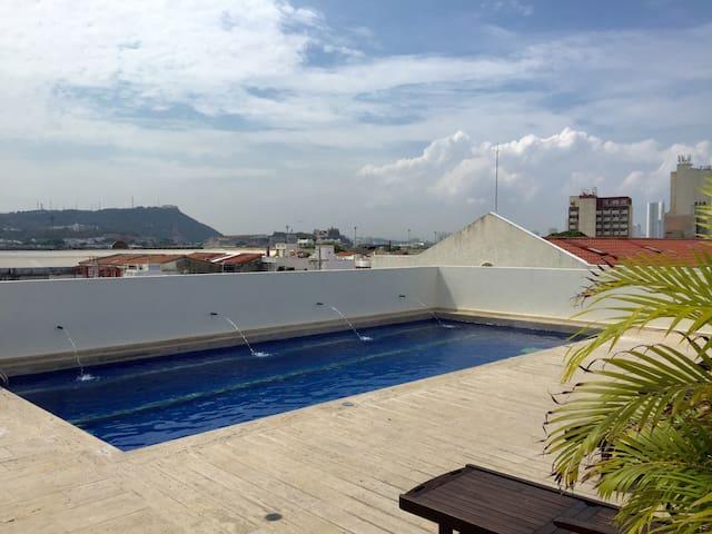 Modern Gem in Cartagena - Kartagina - Apartament