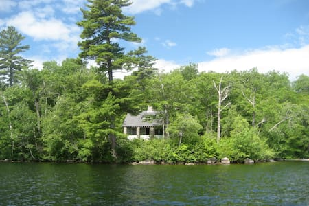 Traditional Maine lakeside cabin - Lovell - 小木屋