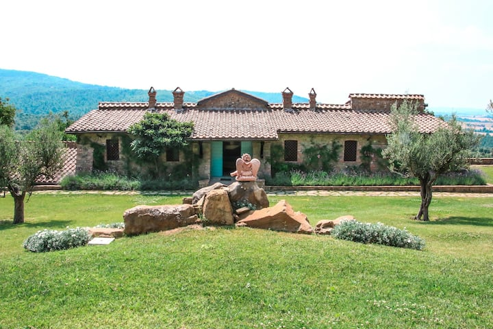 Villa dell'Angelo, natural relax&peace you deserve