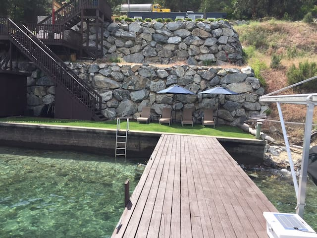 70' of Lake Chelan waterfront - Chelan