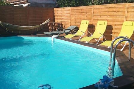 Gîte 4 personnes + piscine - Jonquières - Casa