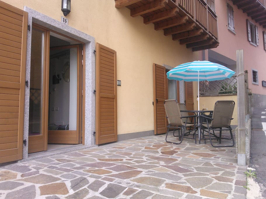 cortile privato