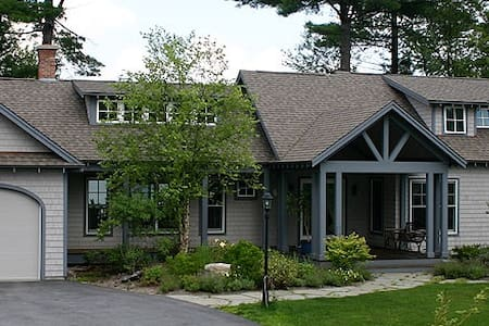 Maple Hill Farm Lake House - New London - Huis