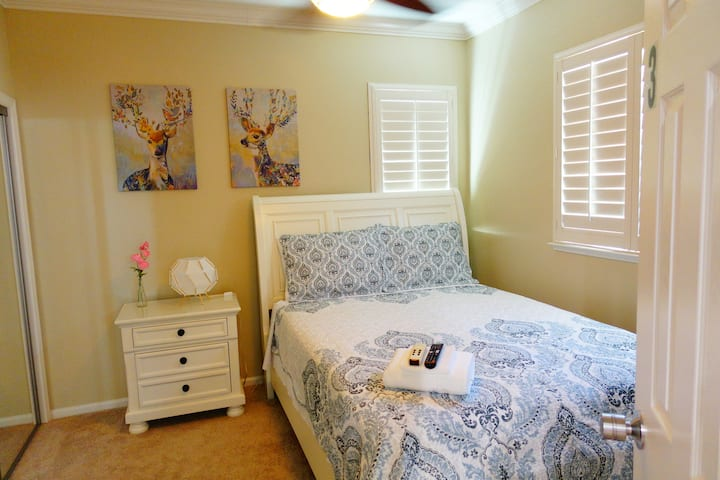 Modesto Best Location Cozy Room Near Hospital