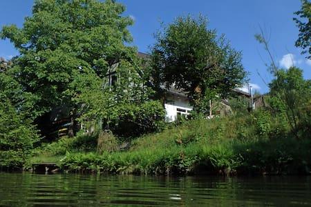 Country near Cologne, house&garden