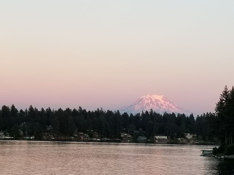 Majestic Mt. Rainier views
