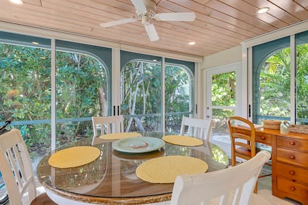 Casa Blanca 2: Sanibel Cottage Near Lighthouse