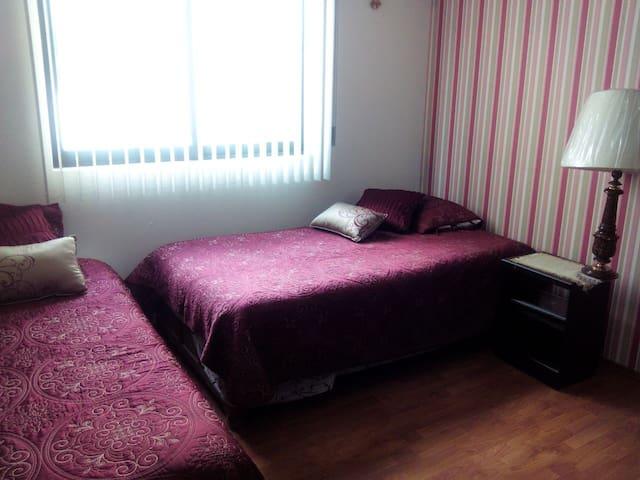 Habitación privada doble individual en Toluca - Toluca