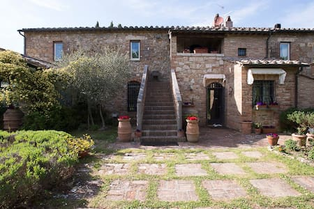 Panoramic Villa in the Tuscany country side - Apartamento