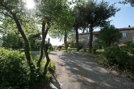 Luxury Country Villa with a view in Val d'Orcia - Chianciano Terme - Appartement