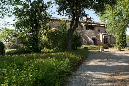 Luxury Country Villa in Val d'Orcia, great view!! - 基安奇安諾泰爾梅(Chianciano Terme) - 獨棟