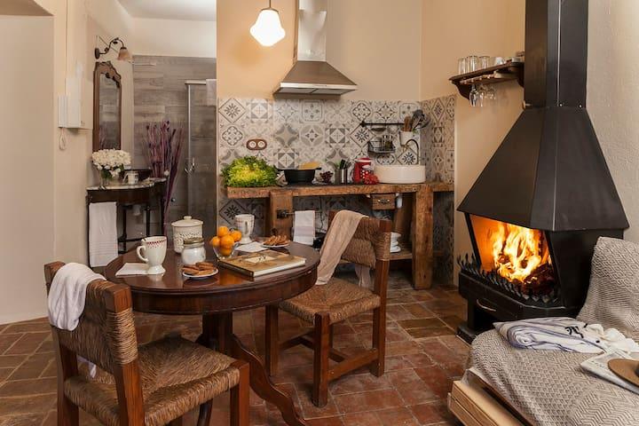 Apartamento rustico a 5 min del mar - Ventalló - Apartment