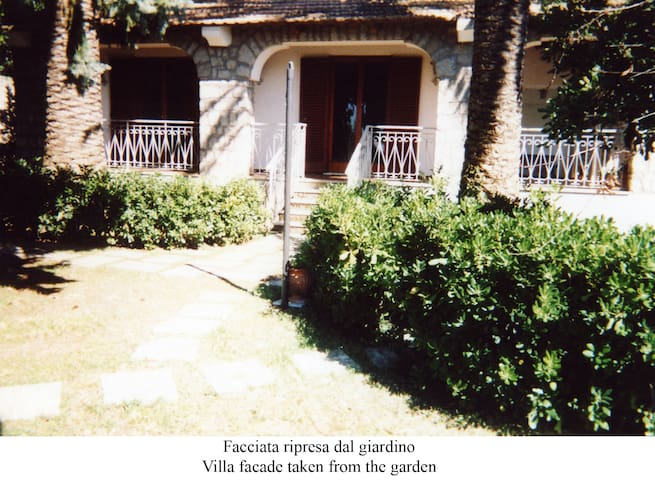 fittasi villa giardino vista capri - Sant'Agata sui Due Golfi - Dům