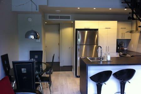 loft 3 1/2 sur deux étage - Beaupré - Loft