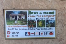 Private Cabin in La Campiña Organic Farm WiFi &A/C