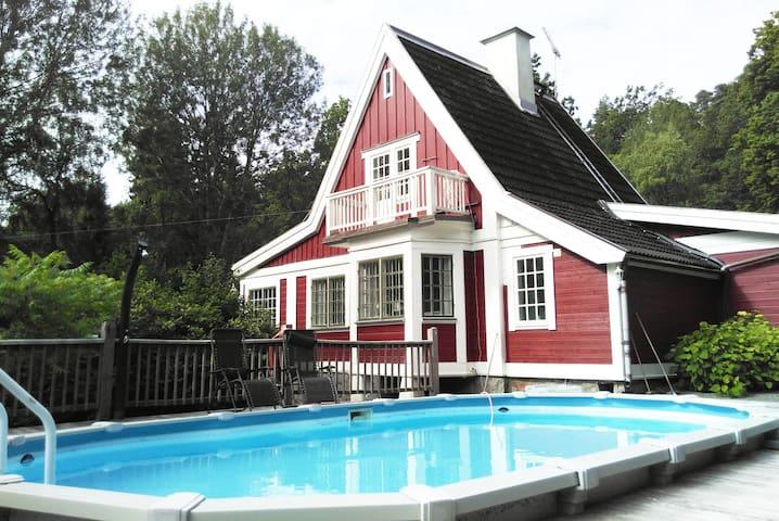 Pepparkakshuset - scenic 30 min from Stockholm