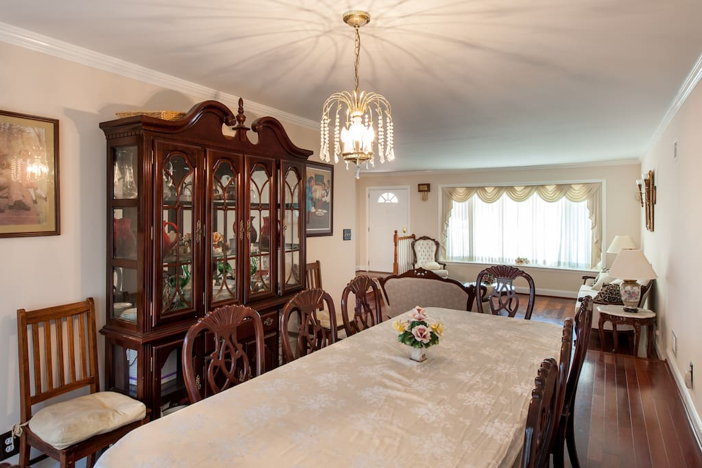 Enjoy fine dining in the large, spacious dining room.