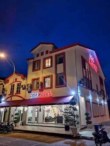 Hotel - Front (Night)